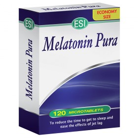 MELATONIN pura 120 INGL