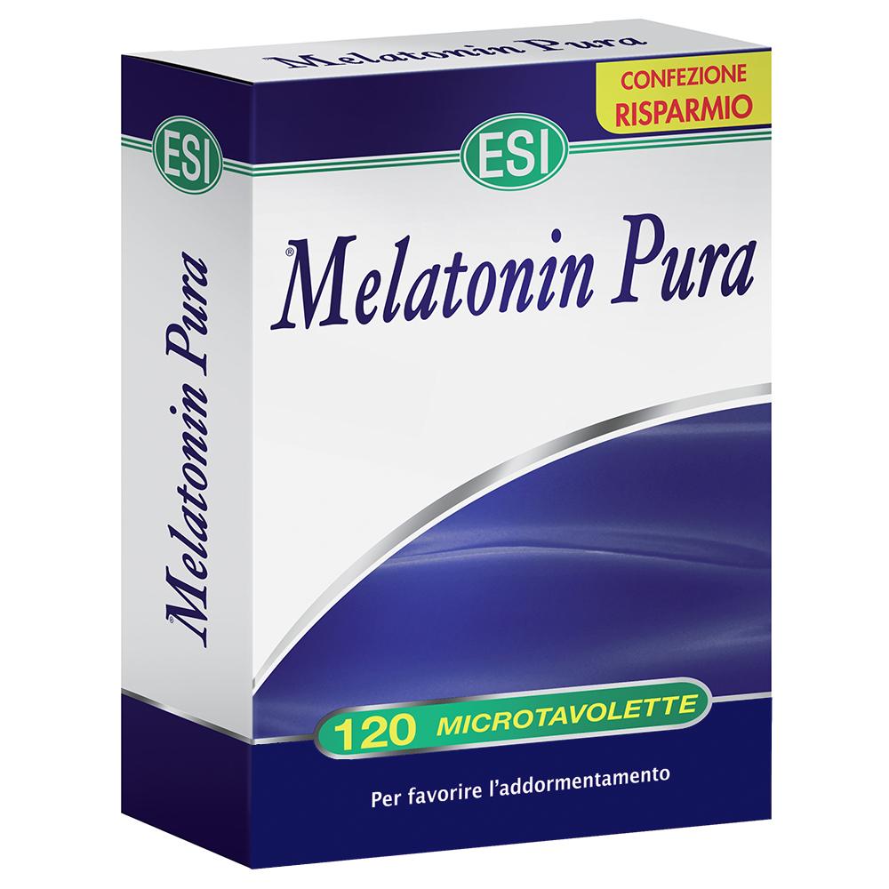 Integratore di melatonina pura per conciliare il sonno
