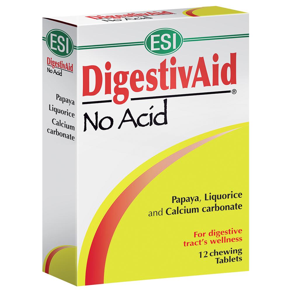 DigestivAid No Acid: rimedio naturale rimedio naturale per il benessere dell'apparato digerente