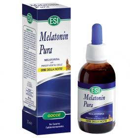 Integratore di melatonina ed erbe rilassanti