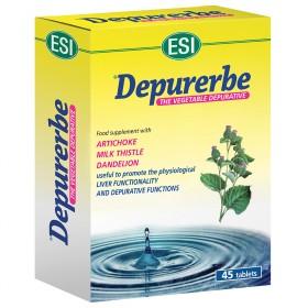 Depurerbe ovalette ESI: integratore alimentare naturale per eliminare le tossine dal fegato e depurare l'organismo