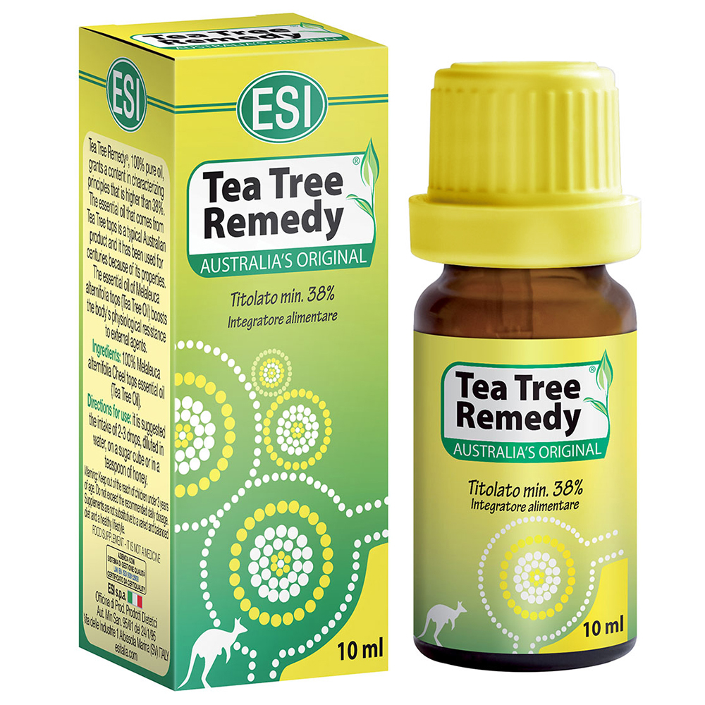 Tea Tree Oil ESI: rimedio naturale contro malattie stagionali e agenti patogeni