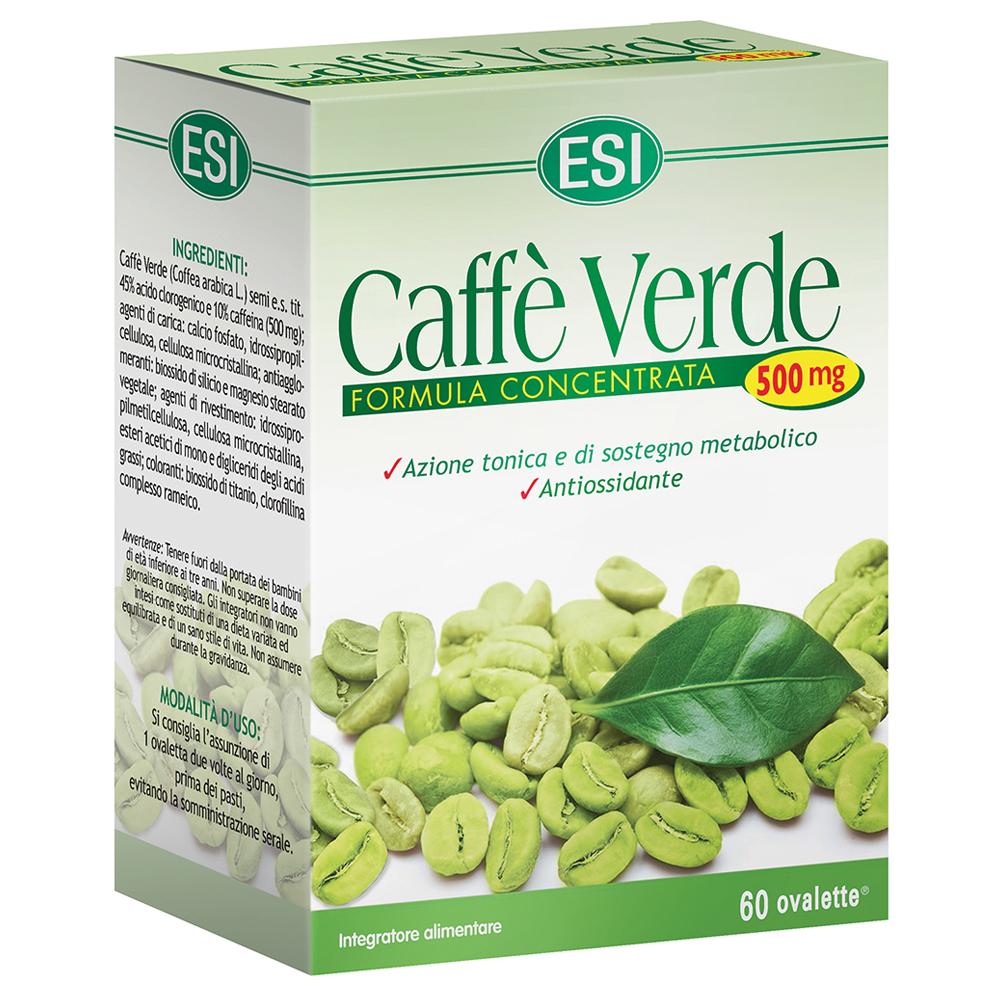 Caffè Verde ESI: rimedio naturale per il controllo del peso corporeo