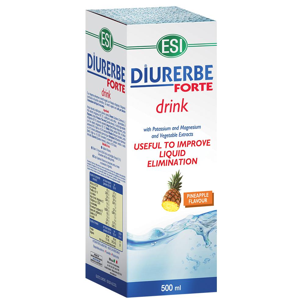 Integratore alimentare diuretico e drenante da bere gusto ananas