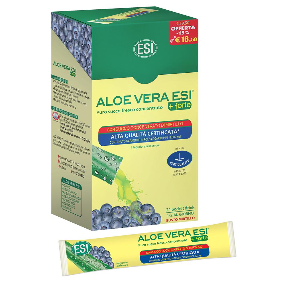 Succo concentrato di Aloe Vera depurativo