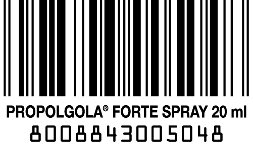 codice a barre propolgola forte in spray