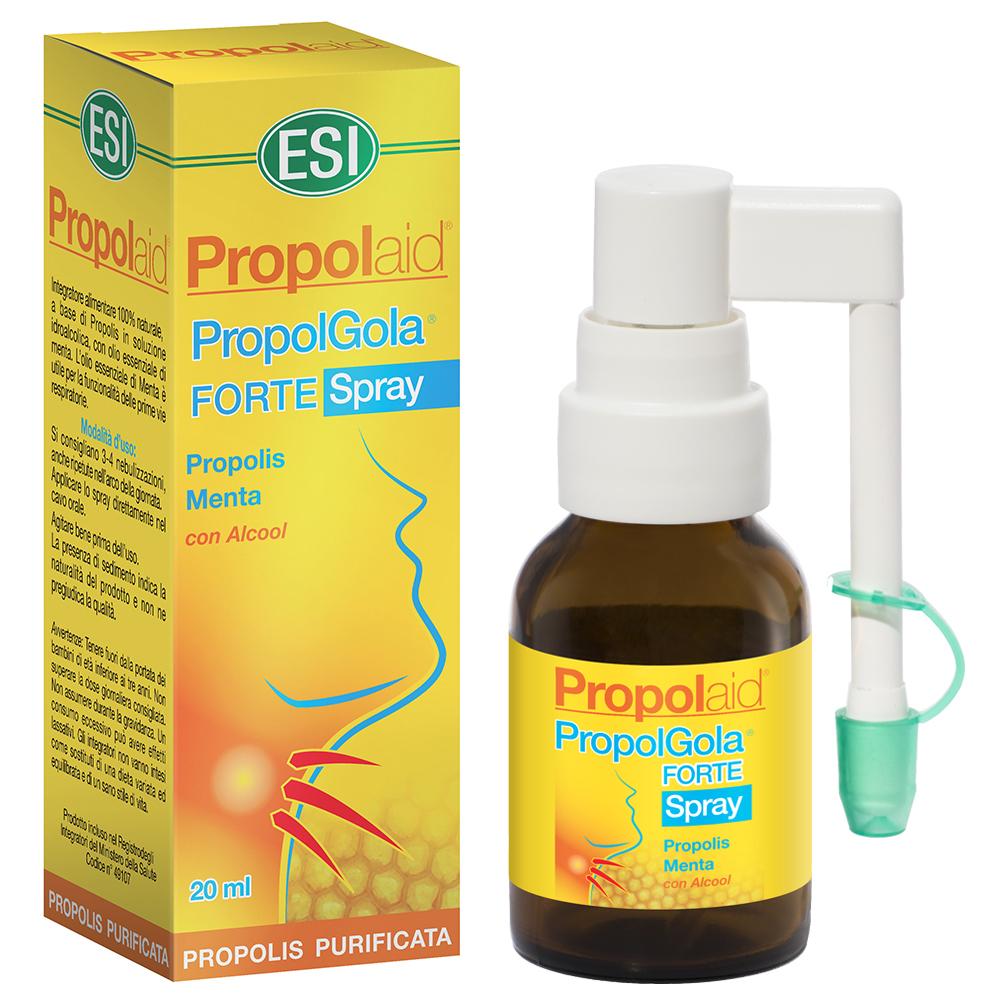 Spray per la gola naturale alla Propoli e Menta