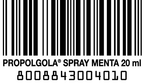 codice a barra Propolaid Gola Spray menta