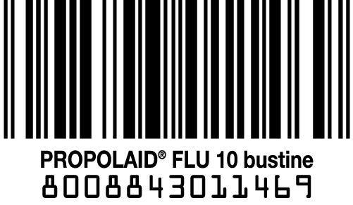 codice a barra Propolaid Flu con propoli