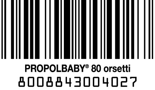 codice a barre propolbaby