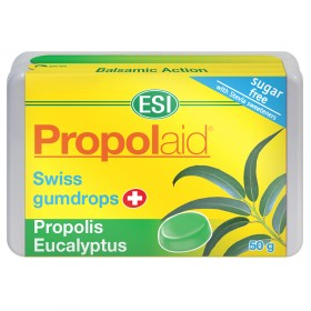 Propolis and Eucalyptus soothing aromatic throat gumdrops