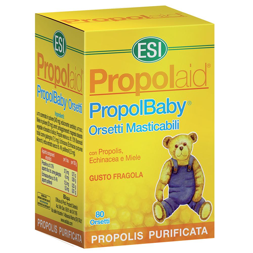 Caramelle alla Propoli ed Echinacea immunostimolanti per bambini