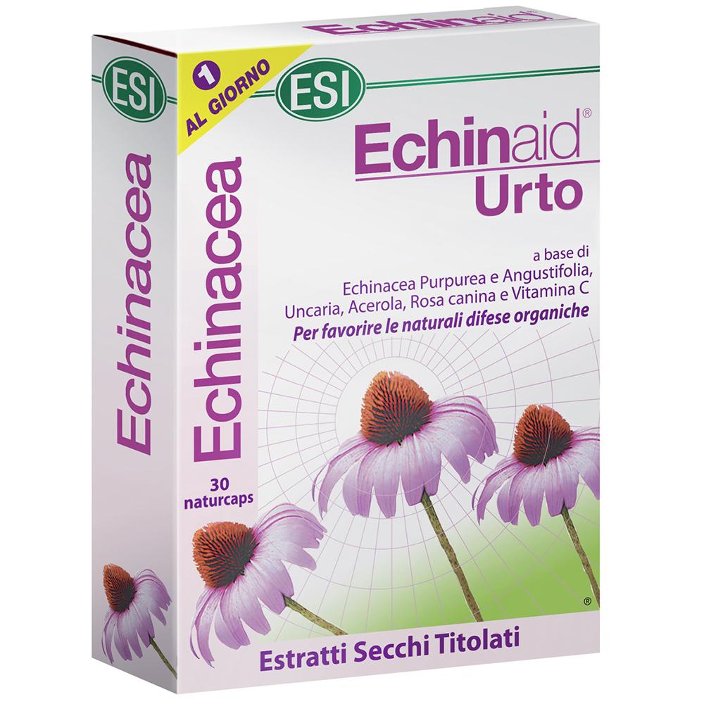 Integratore naturale all'Echinacea immunostimolante