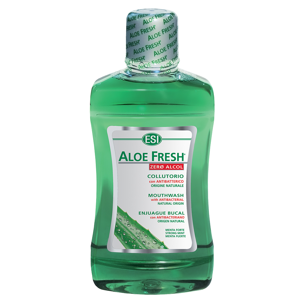 Collutorio all'Aloe Vera senza alcol