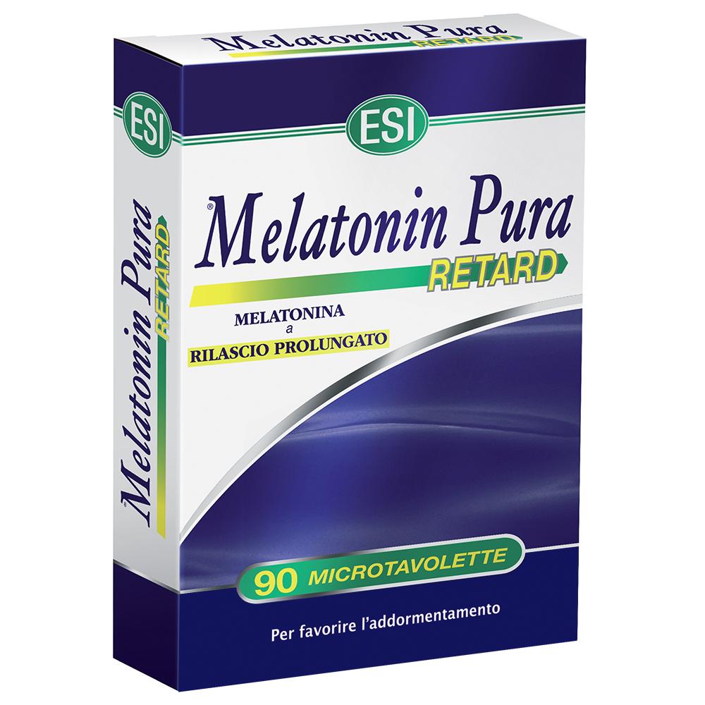 Integratore di melatonina pura a rilascio graduale