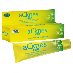 Acknes gel Gel di Tea Tree Oil per acne e brufoli