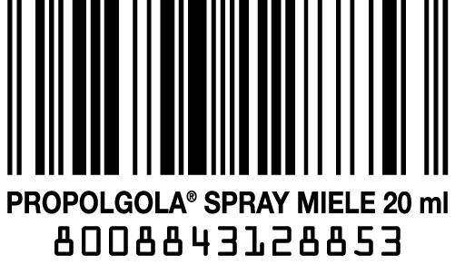 codice a barra Propolaid Gola Spray miele Manuka