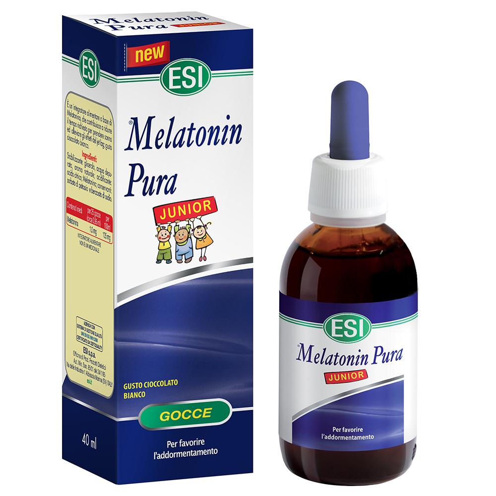 Integratore di melatonina per favorire il sonno dei bambini