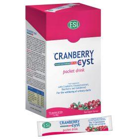 Cranberry Cyst pocket drink: integratore alimentare a base di cranberry per il benessere delle vie urinarie