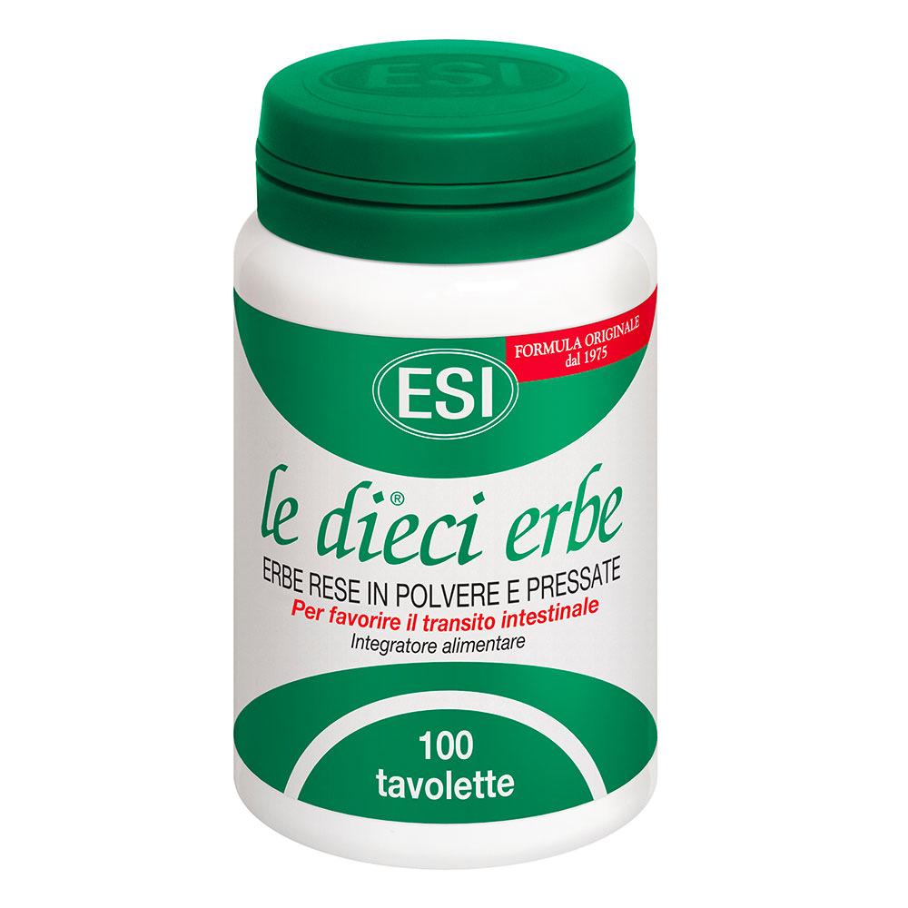 la dieci erbe tablete come si prepara il detox