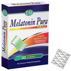 Integratore di Melatonina pura ad assorbimento rapido