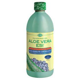 Puro succo di Aloe Vera con Mirtillo per depurare l'organismo