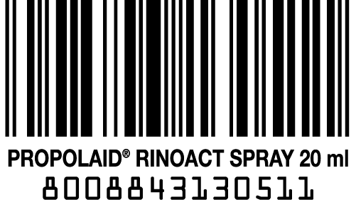 codice a barre propolaid rinoact spray