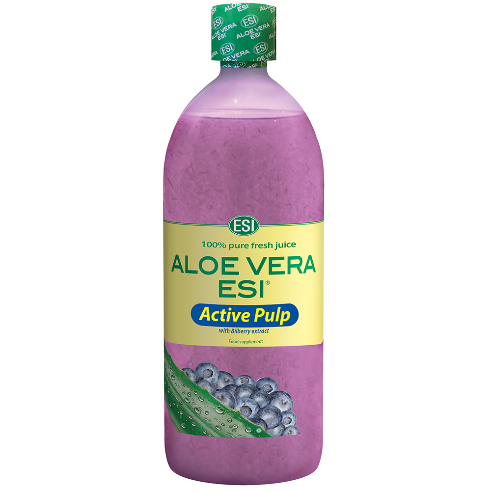 Aloe Vera Juice Active Pulp with Bilberry