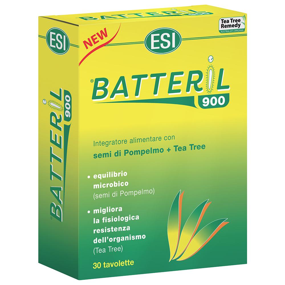Batteril 900: integratore naturale per migliorare la naturale resistenza fisiologica dell'organismo contro gli agenti patogeni