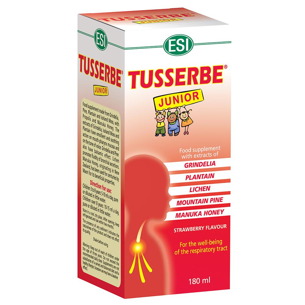 Sciroppo contro la tosse per bambini Tusserbe Junior ESI